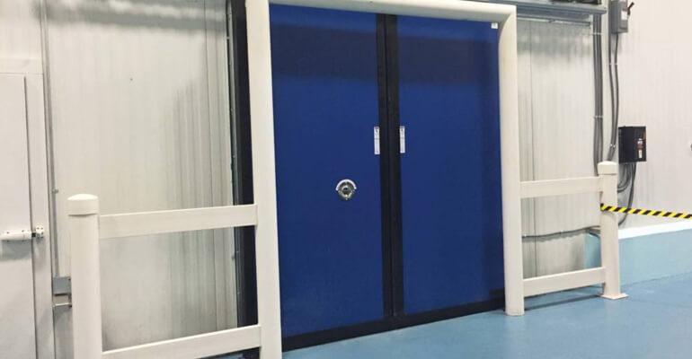 انتخاب درب سردخانه - درب عایق بندی سردخانه