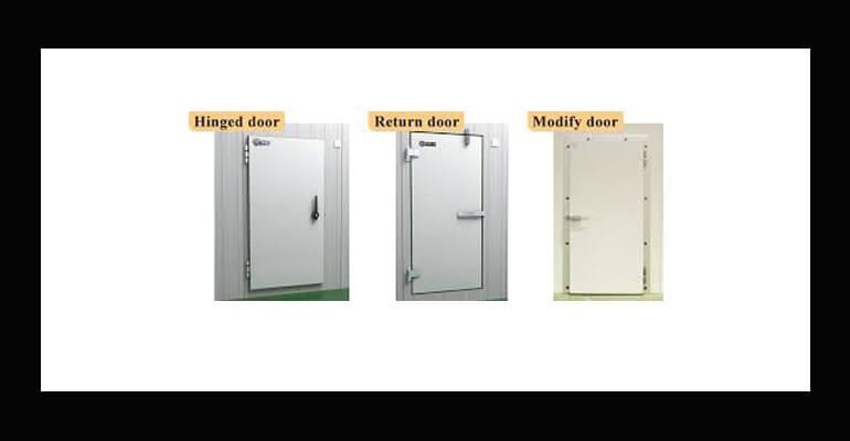 انتخاب درب سردخانه - انواع درب سردخانه