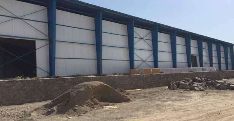 احداث سردخانه محصولات کشاورزی - ساخت سردخانه 5000 تنی