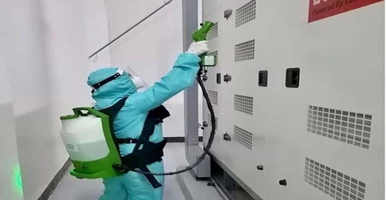 نگهداری از سردخانه - گند زدایی و ضد عفونی کردن سردخانه