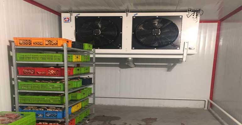 نگهداری از سردخانه - از بین بردن بوی سردخانه