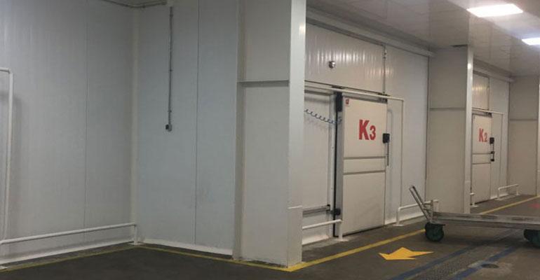انواع سردخانه - سیستمهای اتاق سرد برای صنایع غذایی
