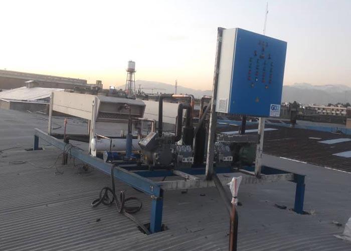 پروژه سردخانه نگهداری کنسانتره شرکت پپسی