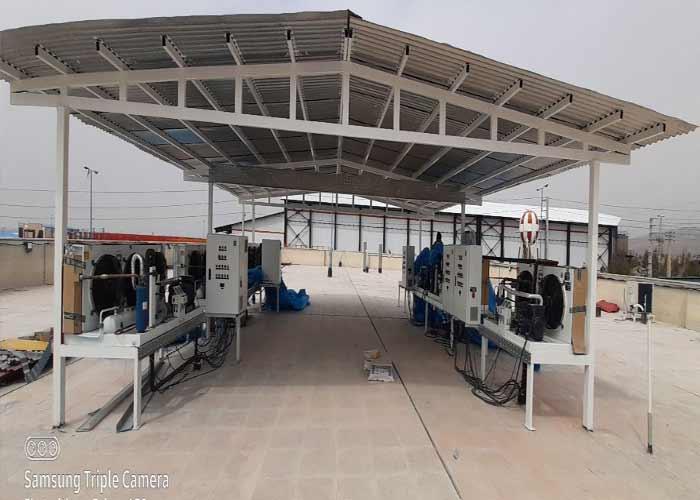 پروژه شرکت دارویی دلتا درمان پارت ۸عدد سردخانه