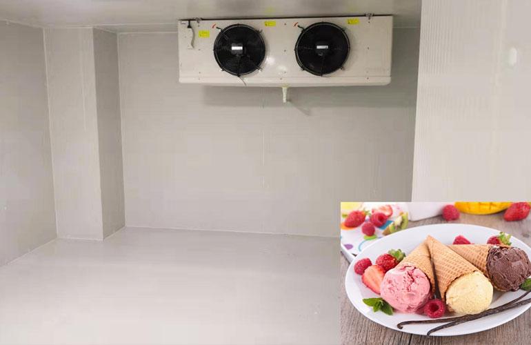 سردخانه نگهداری بستنی